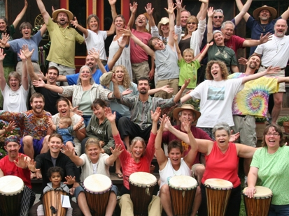 The Montana Outdoor Rhythm Retreat ~ Aug 16 - 18, 2013